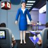 天空女孩飞行服务员游戏